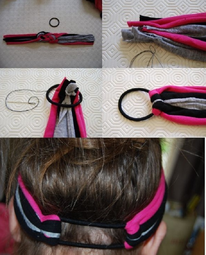 How to make a hairband