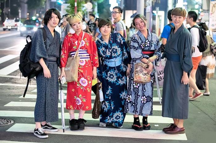Kimono or Yukata