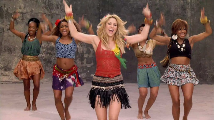 shakira world cup song