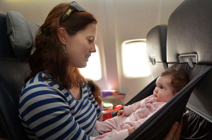 Travel with kids with the plane