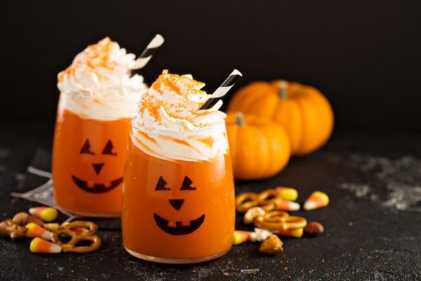 Halloween pumpkin juice