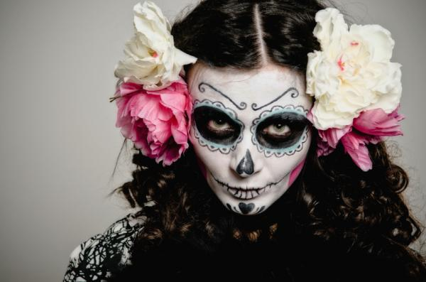 Mexican skull costume