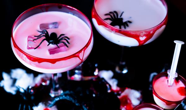 Russian cocktail with spiders