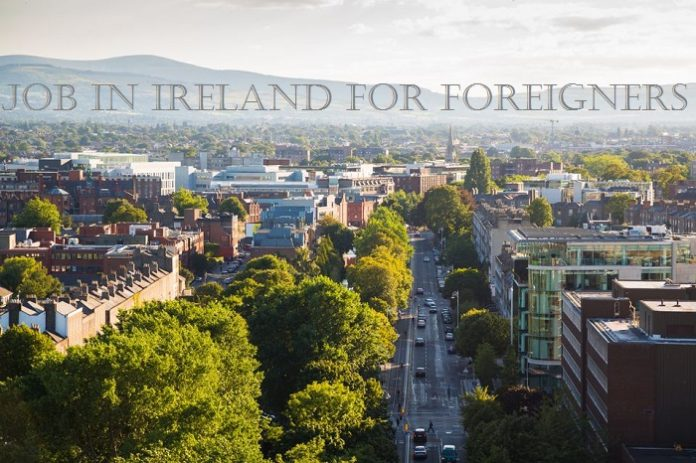 how to get a job in ireland as a foreigner