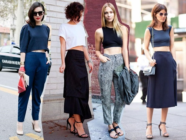 how to wear a crop top